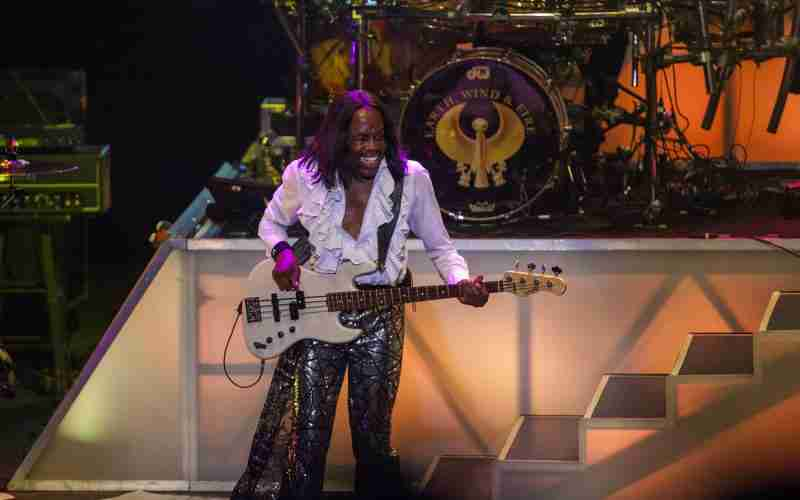 Verdine White - By Daniel Gray