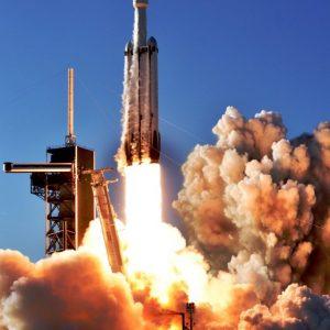Falcon Heavy Arabsat-6A by Chuck Fields