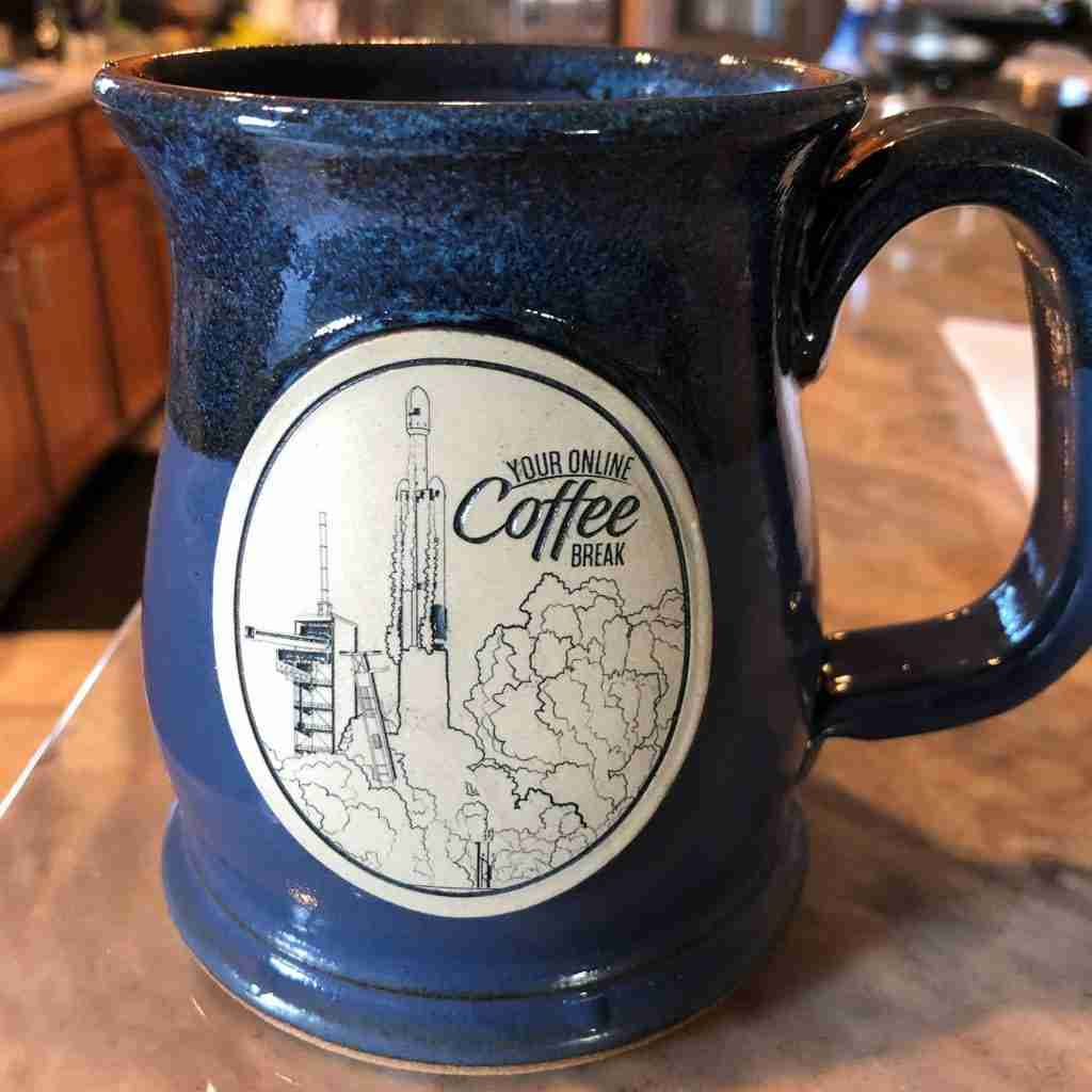 Falcon Heavy Collectable Mug