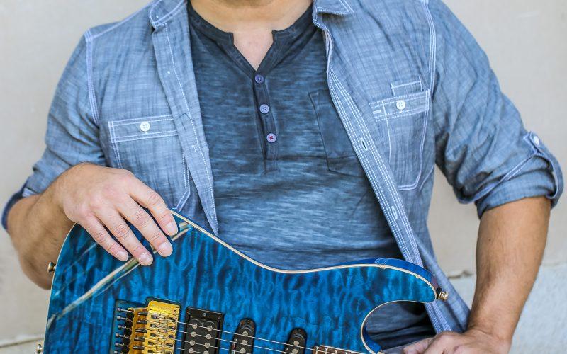 Guitarist Brady Novotny