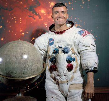 Apollo 13 astronaut Fred Haise